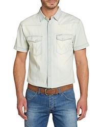 Camisa de manga corta gris de Wrangler