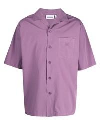 Camisa de manga corta morado de Kenzo