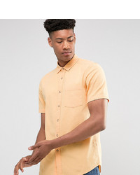 Camisa de manga corta naranja de ASOS DESIGN