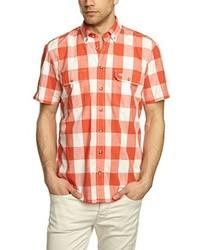 Camisa de manga corta naranja de camel active