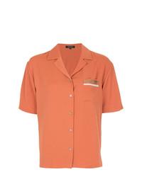 Camisa de manga corta naranja de Loveless