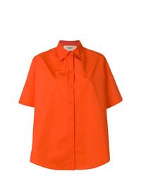 Camisa de manga corta naranja de Ports 1961