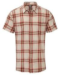 Camisa de manga corta naranja de Royal Robbins