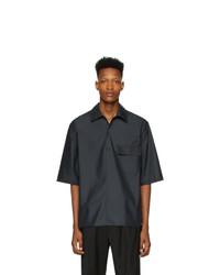 Camisa de manga corta negra de 3.1 Phillip Lim