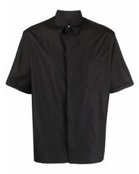 Camisa de manga corta negra de Fendi