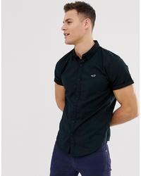 Camisa de manga corta negra de Hollister