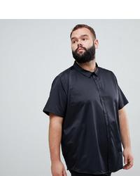 Camisa de manga corta negra de Jacamo