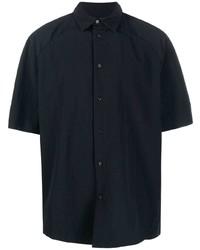 Camisa de manga corta negra de Jacquemus