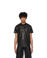 Camisa de manga corta negra de Keenkee