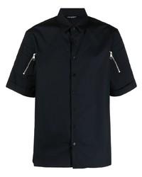 Camisa de manga corta negra de Neil Barrett