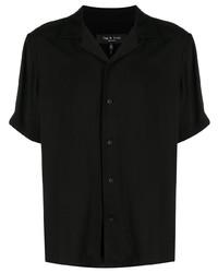 Camisa de manga corta negra de rag & bone