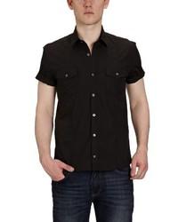 Camisa de manga corta negra de Selected