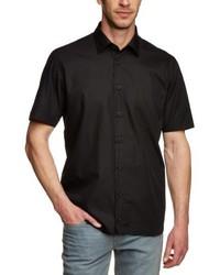 Camisa de manga corta negra de Signum
