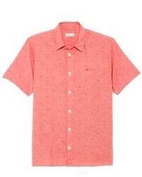 Camisa de manga corta roja original 366588