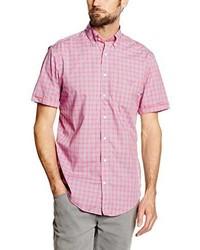Camisa de manga corta rosada de Gant