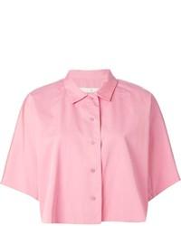 Camisa de manga corta rosada de Golden Goose Deluxe Brand