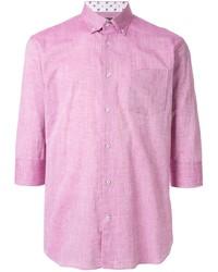Camisa de manga corta rosada de Loveless