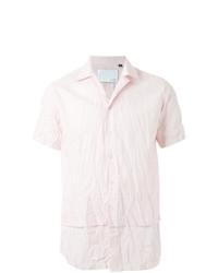 Camisa de manga corta rosada de Matthew Miller