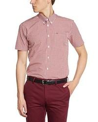 Camisa de manga corta rosada de Merc of London