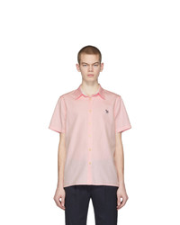 Camisa de manga corta rosada de Ps By Paul Smith