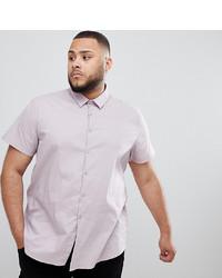 Camisa de manga corta rosada de Twisted Tailor