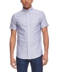 Camisa de manga corta violeta claro de Ben Sherman
