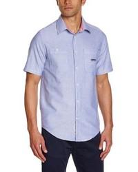Camisa de manga corta violeta claro de Emerica