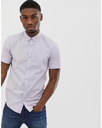Camisa de manga corta violeta claro de ONLY & SONS