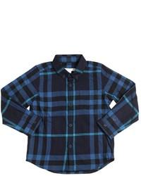 Camisa de manga larga a cuadros