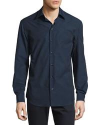 Camisa de manga larga a lunares original 364135