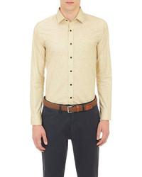 Camisa de manga larga amarilla original 361998