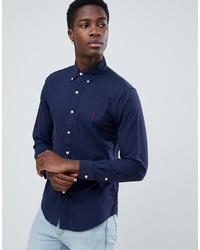 Camisa de manga larga azul marino de Polo Ralph Lauren