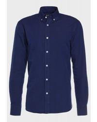 Camisa de Manga Larga Azul Marino de Tiger of Sweden