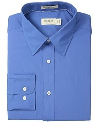 Camisa de manga larga azul