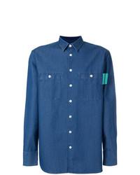 Camisa de manga larga azul de Études