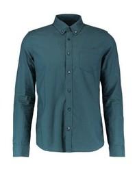 Camisa de Manga Larga Azul de Burton Menswear London