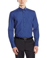 Camisa de manga larga azul de Hackett London