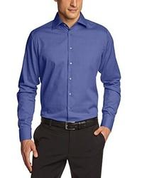 Camisa de manga larga azul de Schwarze Rose