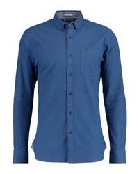 Camisa de Manga Larga Azul de Tommy Hilfiger