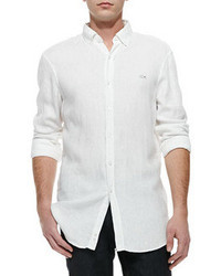 Camisa de manga larga blanca original 360468