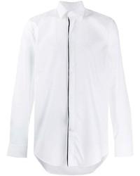 Camisa de manga larga blanca de BOSS HUGO BOSS
