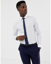 Camisa de manga larga blanca de Calvin Klein
