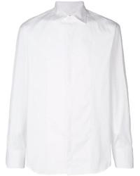 Camisa de manga larga blanca de DSQUARED2