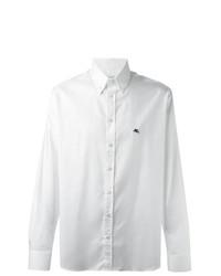 Camisa de manga larga blanca de Etro