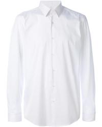 Camisa de manga larga blanca de Hugo Boss