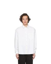 Camisa de manga larga blanca de Jacquemus
