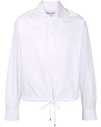 Camisa de manga larga blanca de Lanvin