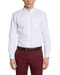 Camisa de manga larga blanca de Merc of London
