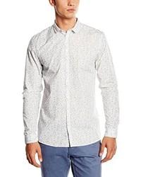 Camisa de manga larga blanca de Minimum