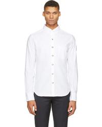 Camisa de manga larga blanca de Moncler
